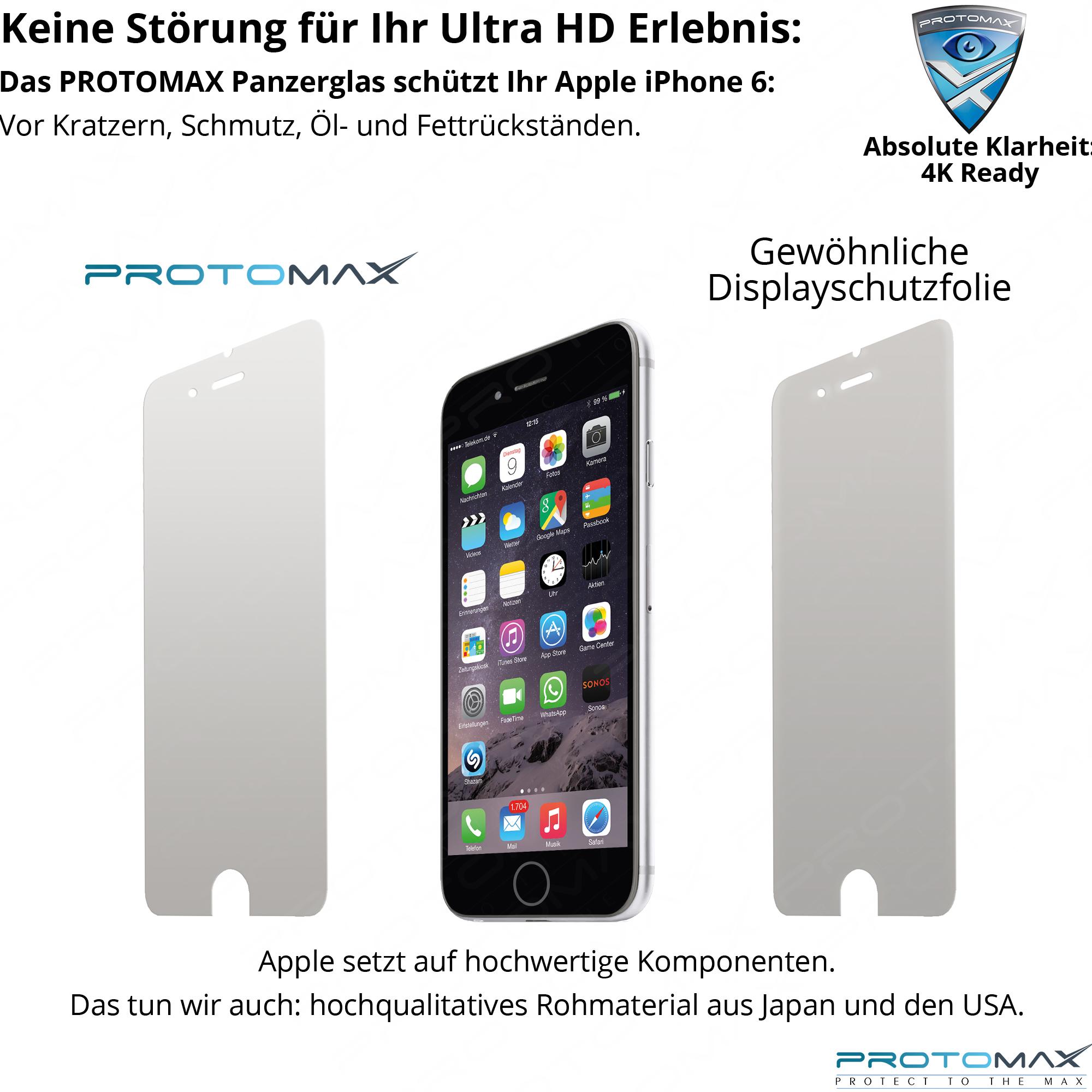 apple iphone 6 iphone 6 plus panzerglas. Black Bedroom Furniture Sets. Home Design Ideas